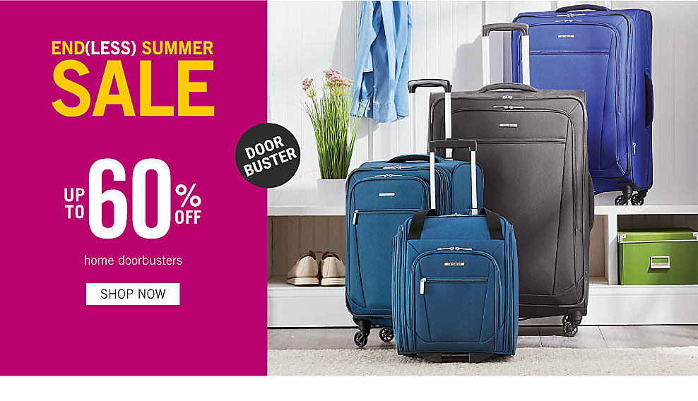 74b6d6ea 4 pieces of luggage in various sizes & colors. Doorbuster. Endless summer  sale.
