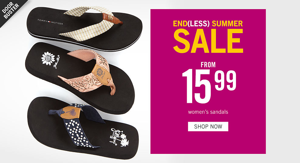 121e8e675d An assortment of women's Yellow Box sandals in a variety of colors &  styles. Endless