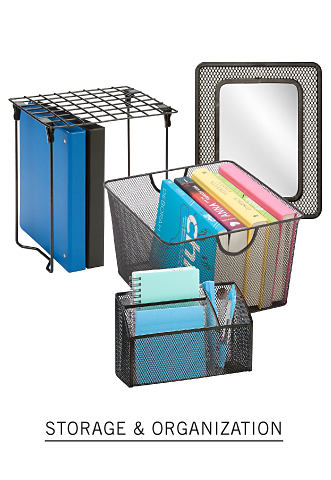 A collection of storage containers. Shop storage and organization.