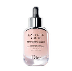 A bottle of Dior serum. Shop serums.