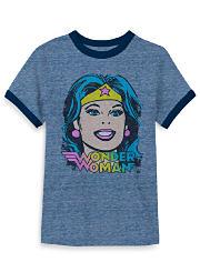 A Wonder Woman graphic T-shirt. Shop T-shirts.