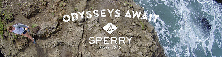 Odysseys await. Sperry, since 1935.