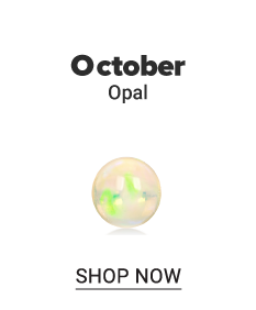 An opal gem stone. October. Opal. Shop now.