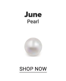 A pearl. June. Pearl. Shop now.