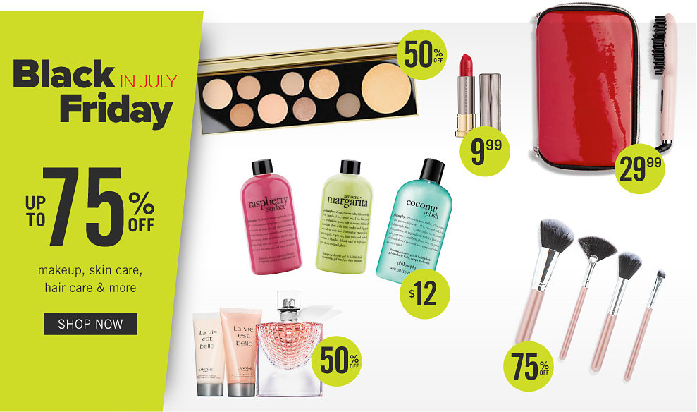 d56fb6624b9 A variety of beauty products from 9.99 and up to 75% off. Black friday