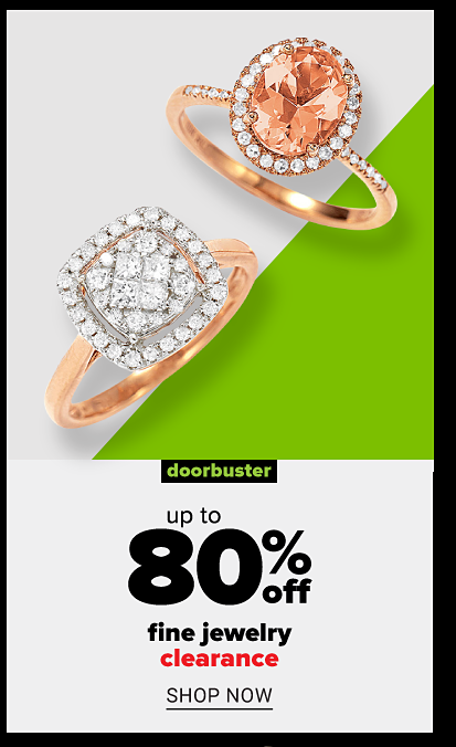 Gold diamond ring with round chocolate stone and a gold diamond ring with square diamond stones. Doorbuster. Up to 80% off fine jewelry clearance. Shop now.