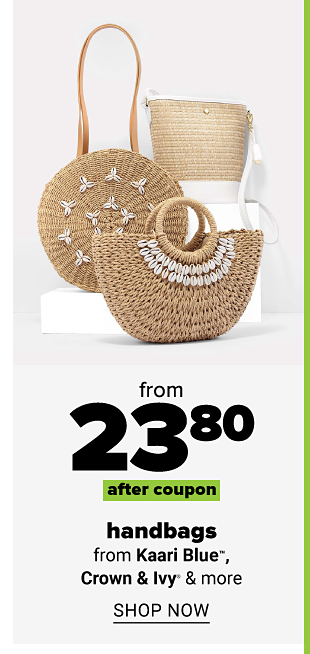 Various straw handbags with shell detailing. From 23.80 after coupon handbags from Kaari Blue, Crown and Ivy and more. Shop now.