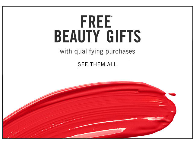 A smudge of red nail polish. Free Beauty Gifts with qualifying purchases. See them all.