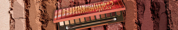 Urban Decay's newest Naked palette, Heat, which has 12 unique shades for summer along with an eyeshadow brush.