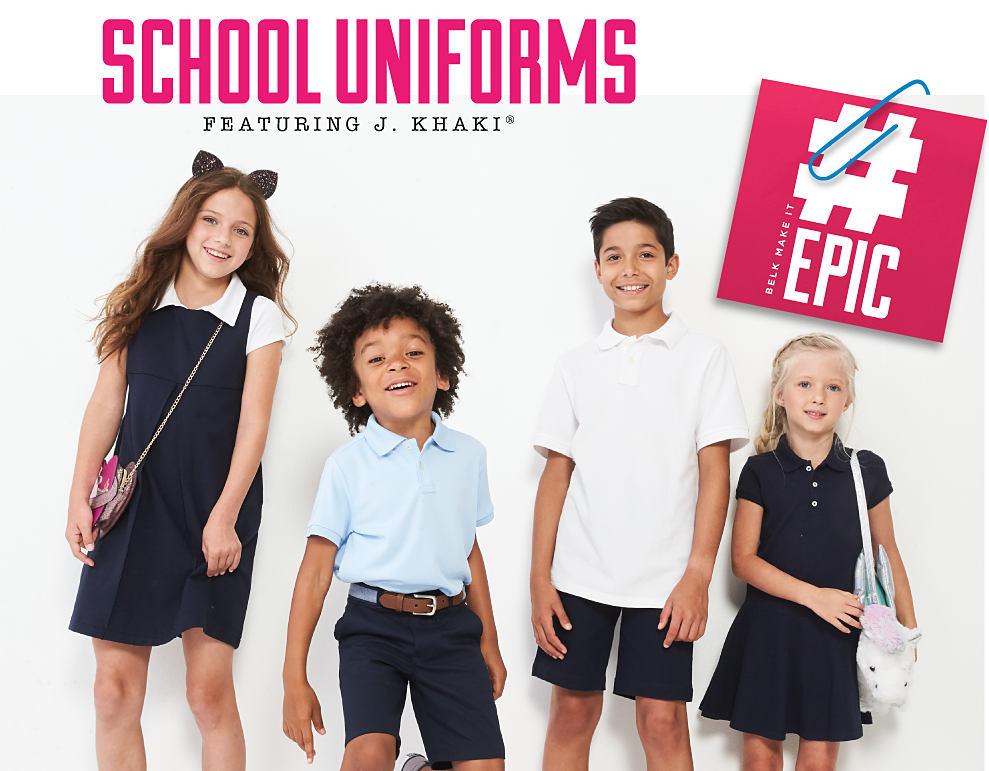 school uniforms