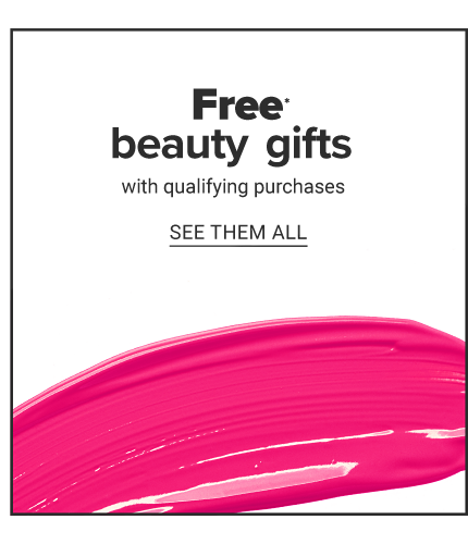 A smudge of red nail polish. Free beauty gifts with qualifying gifts. See them all.