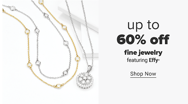 Gold and silver diamond pendants. Up to 60% off fine jewelry featuring Effy. Shop now.