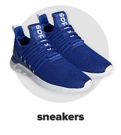 A pair of blue Adidas basketball shoes. Sneakers.