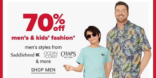 Daily Deals - 70% off men's fashion. Shop Men.