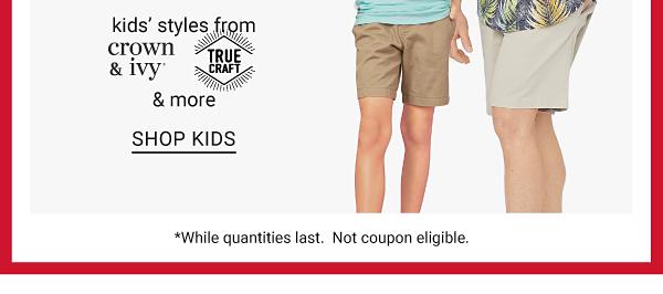 Daily Deals - 70% off men's fashion. Shop Kids.