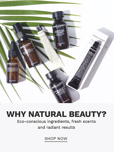 A variety of natural beauty products. Why natural beauty? Eco-conscious ingredients, fresh scents and radiant results. Shop now.