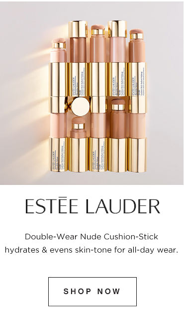 Estee Lauder. Double Wear Nude Cushion-Stick hydrates & evens skin-tone for all day wear. Shop Now
