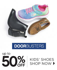Doorbusters | Up to 50% off Kids' Shoes - Shop Now
