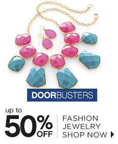 Doorbusters | Up to 50% off Fashion Jewelry - Shop Now