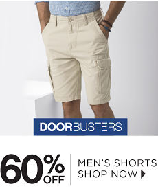 Doorbusters | 60% off Men's Shorts - Shop Now
