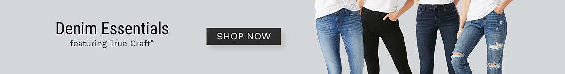 Denim Essentials | shop now