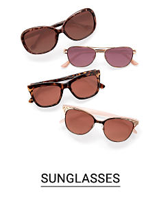 4 pairs of sunglasses in a variety of styles. Shop sunglasses.
