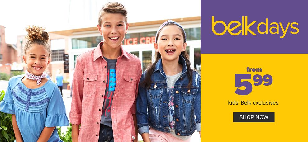 3363e210310ac Kids' Clothes | Children's Clothes | belk