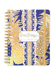 A decorative Lilly Pulitzer notebook. Shop stationery.