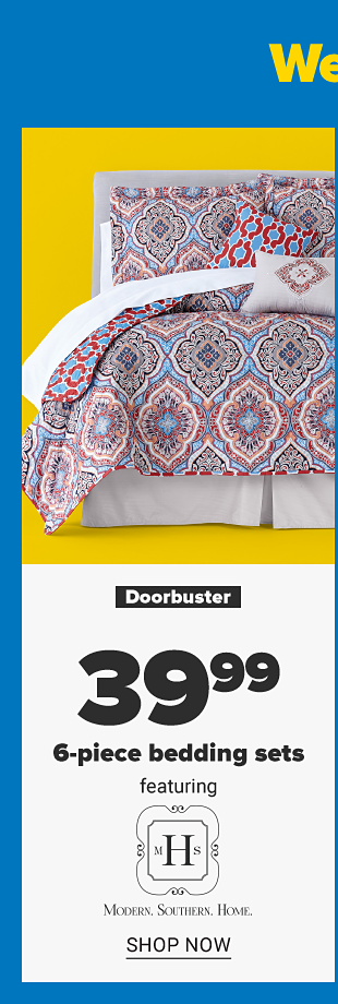 A bed with a colorful reversible diamond print comforter with pillows to match. Doorbuster. 39.99 6 piece bedding sets featuring Modern. Southern. Home. Shop now.