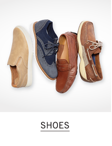 4 men's shoes in a variety of colors and styles. Shop shoes.