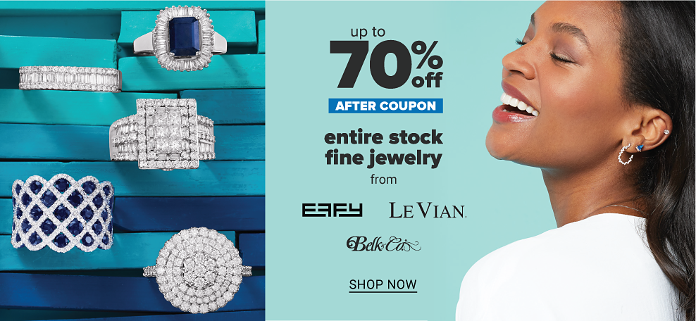 A variety of gold necklaces. Up to 70% off after coupon fine jewelry, shop now.