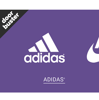 Doorbuster. Up to 25% off activewear for the family. Shop Adidas.