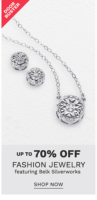 Silver & cubic zirconia earrings & a silver & cubic zirconia pendant necklace. Doorbuster. Up to 70% off fashion jewelry featuring Belk Silverworks. Shop now.