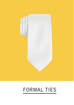 A white tie. Shop formal ties.