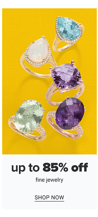 An assortment of gold & colored diamond rings. Up to 85% off fine jewelry. Shop now.