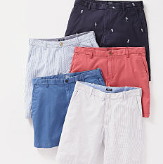An assortment of shorts in a variety of colors & prints. Shop shorts.
