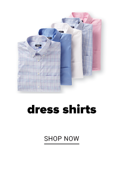 A collection of dress shirts in a variety of colors and prints. Dress shirts. Shop now.