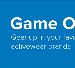 Game on! Gear up in your favorite activewear brands.