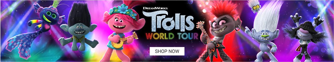 DreamWorks Trolls World Tour Shop Now.