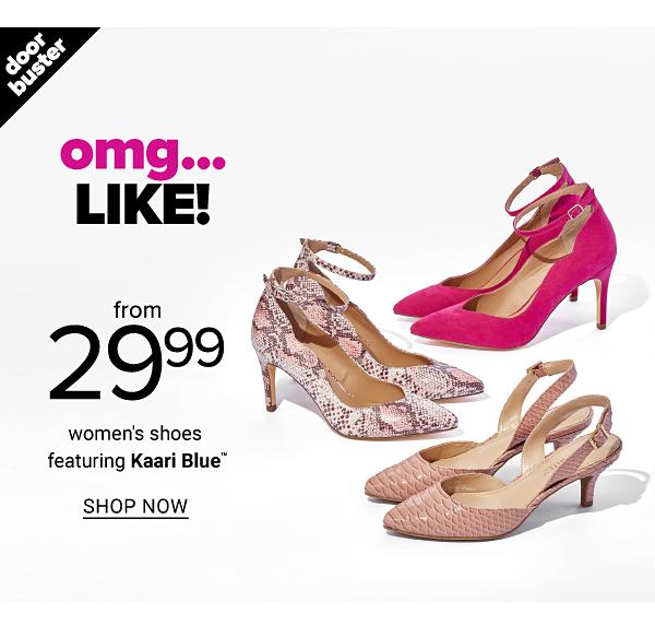 From 29.99 Women's Shoes feat. Kaari Blue - Shop Now