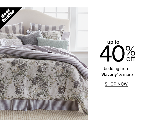 Up to 40% off Bedding from Waverly and more - Shop Now