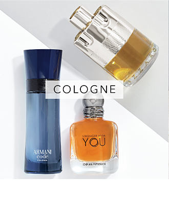 An assortment of men's cologne bottles. Cologne. Shop now.