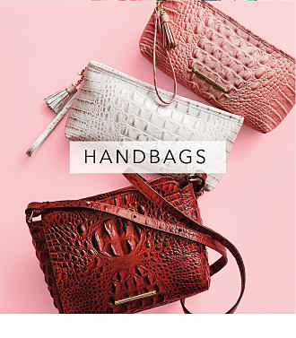 An assortment of croco leather handbags in a variety of colors. Handbags. Shop now.