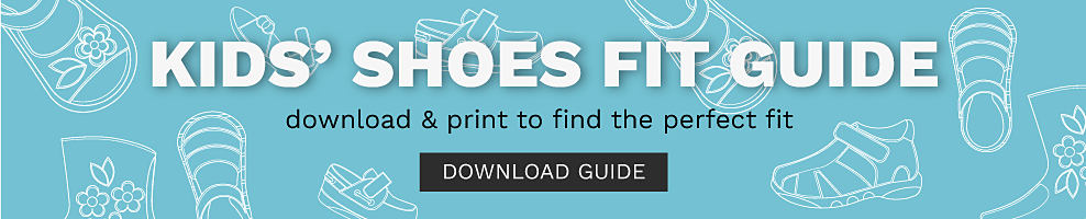 Kids Shoe Fit Guide. Download & print to find the perfect fit Download guide