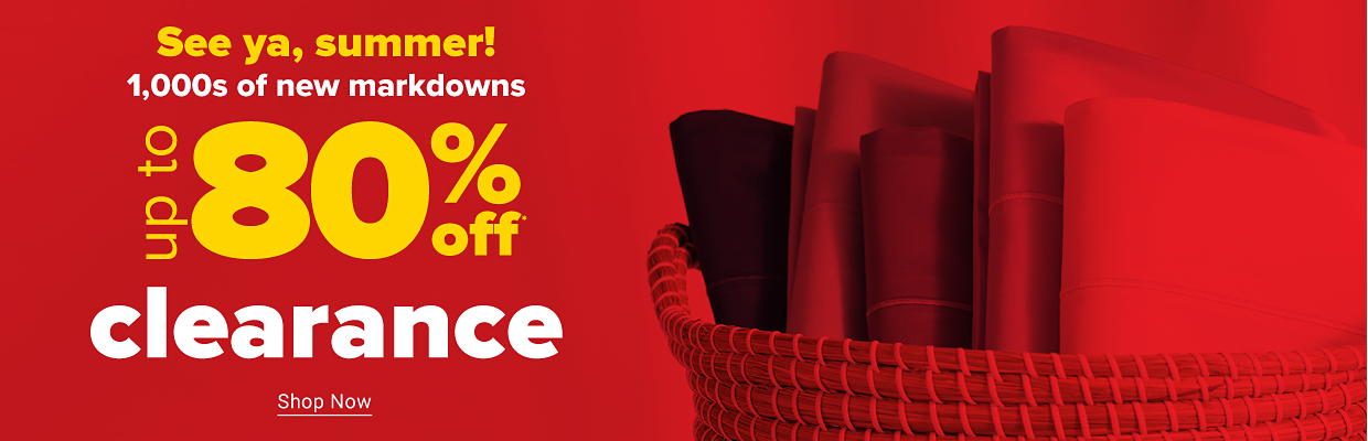Our best clearance prices are here. Up to 80% off. Shop now.