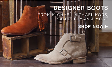 Designer Boots from Michael Michael Kors, Sam Edelman & More - Shop Now