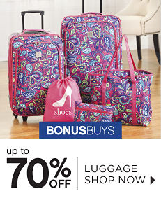 BonusBuys - Up to 70% off Luggage - Shop Now