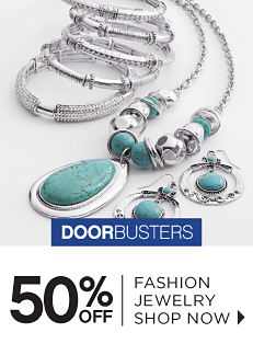 Doorbusters - 50% off Fashion Jewelry - Shop Now