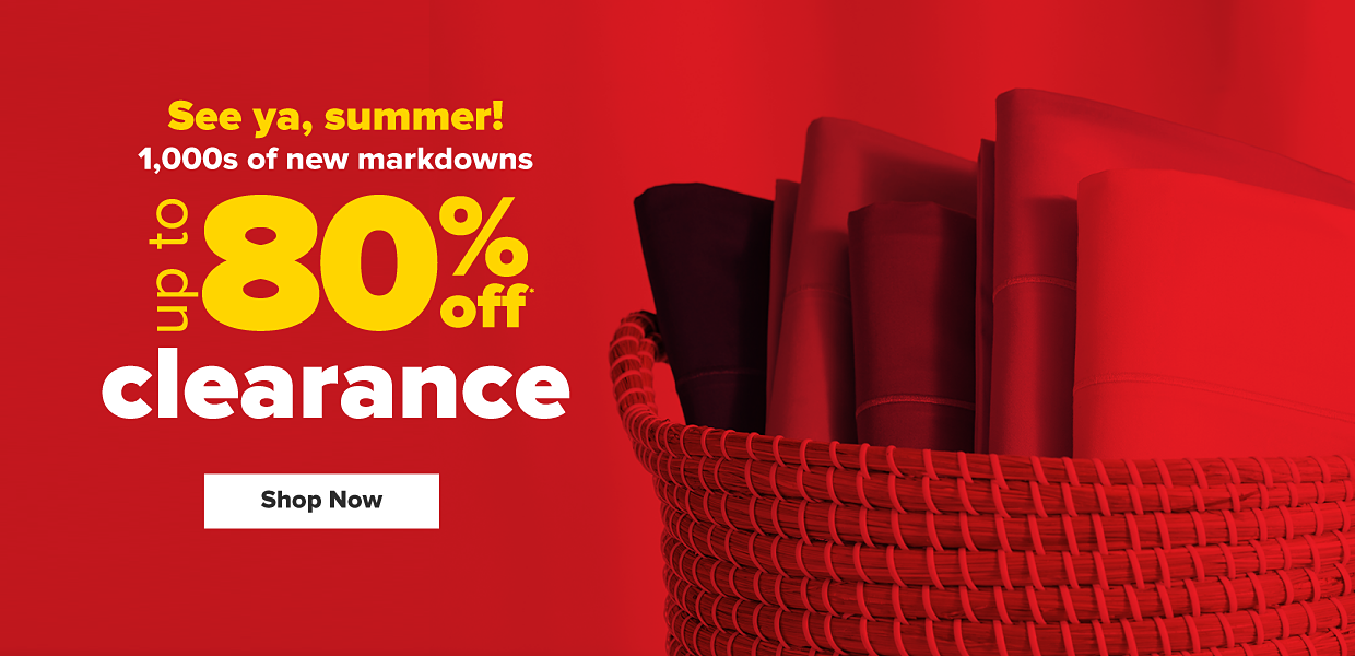 Enjoy discounts of up to 80% during the Summer Clearance at Belk.