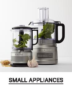 A blender & a food processor. Shop small appliances.
